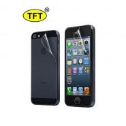 Защитная плёнка TFT для iPhone 5 двухсторонняя
