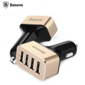 Автомобильное зарядное устройство Baseus 4USB 9.6A Smart voyage series