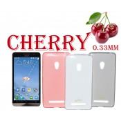 Ультратонкий чехол накладка TPU Cherry для Asus ZenFone 5 A501CG
